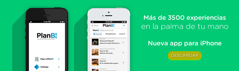 APP para iPhone de PlanB!